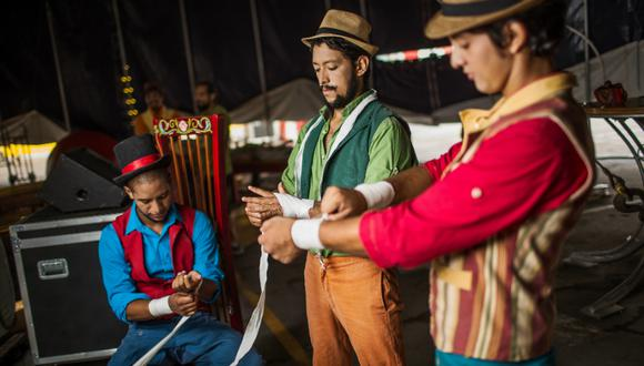 La Tarumba recurre a un espectáculo online, producto de lo mejor de su repertorio, en tiempos de coronavirus. (Foto: Victor Idrogo)