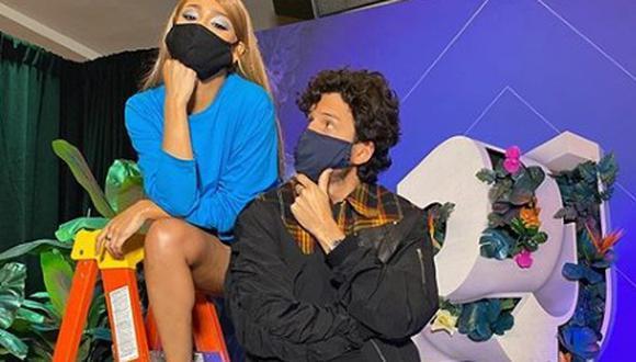 Sebastián Yatra llegó a México y así reaccionó al ser consultado sobre posible romance con Danna Paola. (FOTO: Instagram)