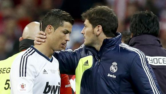 Iker Casillas y Cristiano Ronaldo sufrieron males cardiacos. Uno fue a los 15 años, el otro recién. (Foto: EFE)