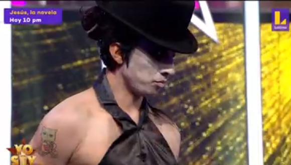 Imitador de Marilyn Manson es eliminado por La India. (Foto: Captura Latina/Yo Soy)