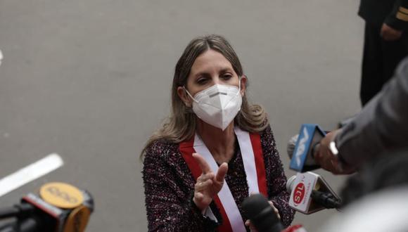 María del Carmen Alva envió oficio a la premier Vásquez para confirmar fecha de su reunión. (Foto: Anthony Niño de Guzmán/ @photo.gwc)
