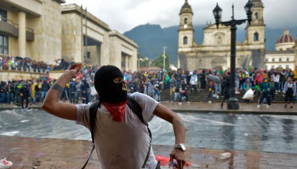 Protestas en Colombia: ¿Cuál es el motivo de la multitudinaria marcha? (AFP)
