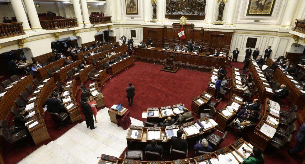 En el Congreso hay más de 1,600 personas trabajando pese al cierre. (Foto: GEC)