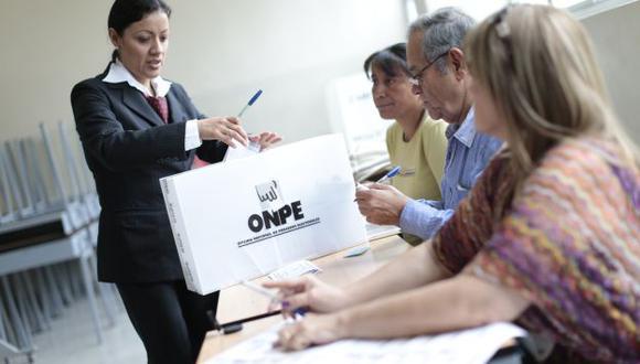 Elecciones 2016: Miembros de mesa sorteados para la primera vuelta repetirán el plato el 5 de junio. (USI)