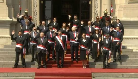 Sentencia del TC podría sacar al presidente transitorio, Manuel Merino, de Palacio de Gobierno (GEC).