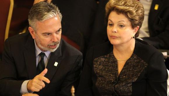 Presidenta Dilma Rousseff aceptó renuncia de Patriota. (EFE)