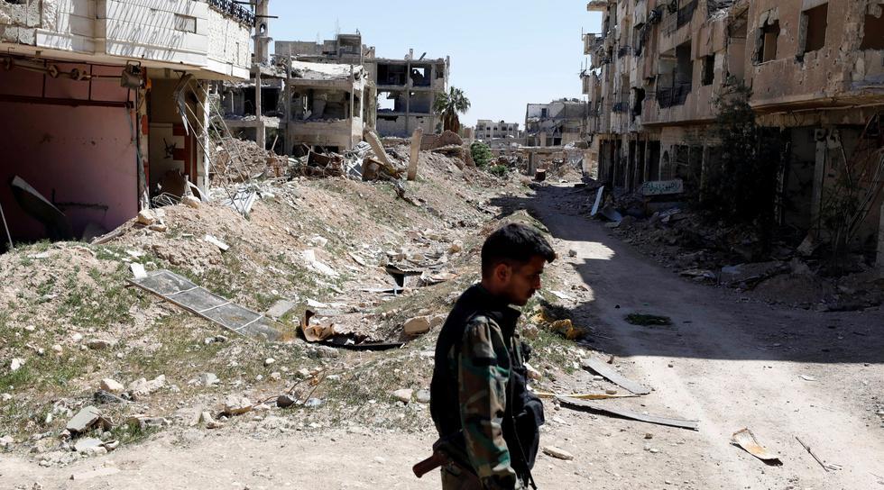 Lo que se sabe del presunto ataque químico en Siria. (AFP)