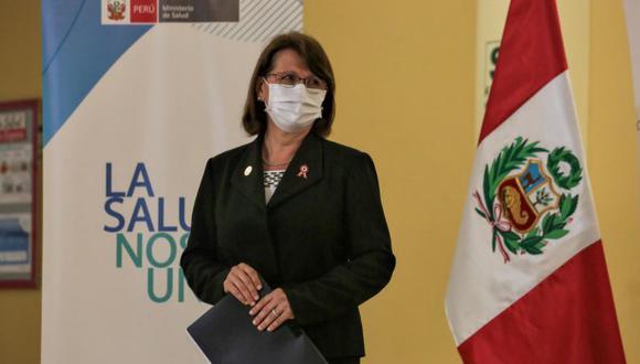 Pilar Mazzetti informó de avances para la adquisición de la vacuna contra el COVID-19. (Presidencia)