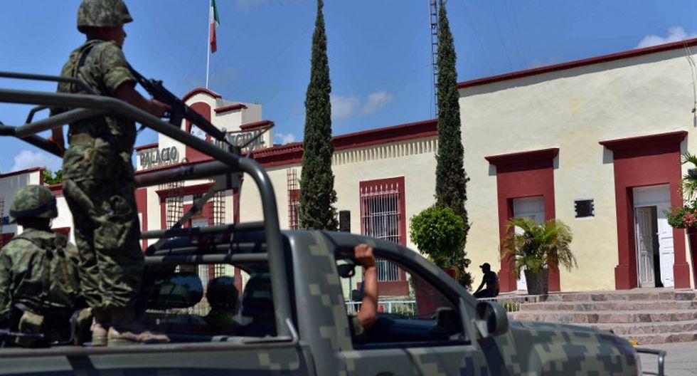 La ciudad de Sinaloa donde nació 'El Chapo' aparece en los primeros capítulos de la serie 'Narcos México'.  (AFP)