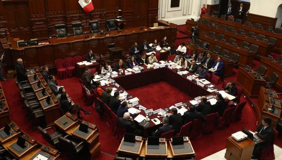 Comisión de Constitución continúa esta mañana el debate de proyectos de reforma política. (Foto: GEC/Alessandro Currarino)