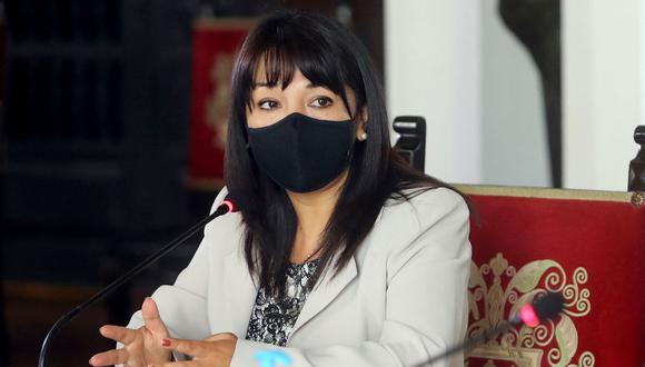 Mirtha Vásquez dijo que fue víctima de acoso político como presidenta del Congreso. (Foto: Andina)