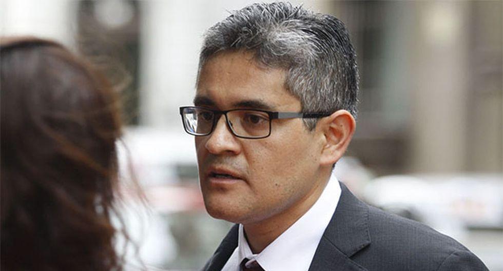 José Domingo Pérez consideró que los argumentos esgrimidos por el fiscal de la Nación, Pedro Chávarry, son ilegales. (Foto: Agencia Andina)