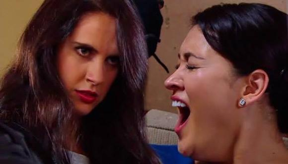 'Nicole' acaba con la vida de 'Elisa' en 'VBQ: Empezando a vivir'.
