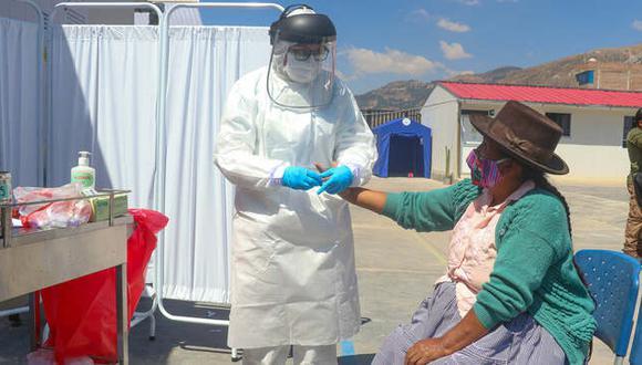 Ayacucho: Diresa alerta que se encuentran en una meseta contagios por coronavirus (Foto difusión)