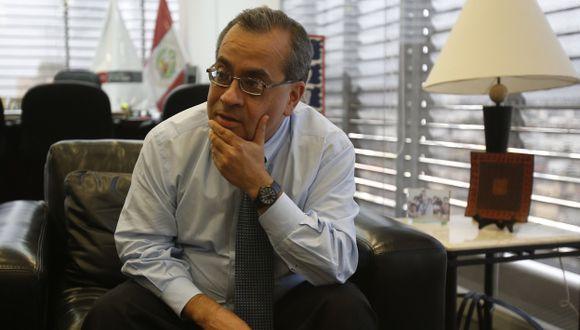 Ministro de Educación, Jaime Saavedra, habló sobre aumentos a maestros. (Martín Pauca)