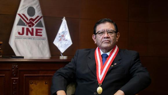 """Jorge Luis Salas Arenas: """"La voluntad ciudadana está siendo y será escrupulosamente respetada"""". (Foto: El Comercio)"""