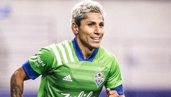 Raúl Ruidíaz ya no ocupará plaza de extranjero en el plantel de Seattle Sounders. (Foto: Sounders FC)