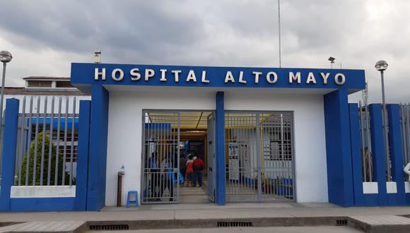 La madre fue referida desde el distrito de Nueva Cajamarca, provincia de Rioja hacia el hospital II- 1 Alto Mayo de EsSalud Moyobamba.