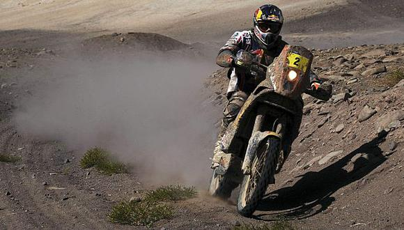 El piloto galo está muy cerca de lograr su cuarta corona en el rally. (Reuters)