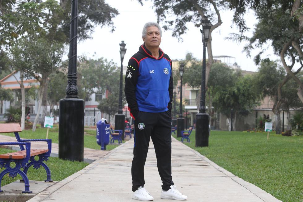 """Rubén 'Panadero' Díaz: """"Esta selección ha dado una  lección de jerarquía y orgullo"""". (Violeta Ayasta/GEC)"""