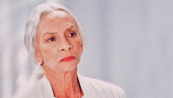 """La actriz Josefina Echánove falleció el pasado 29 de diciembre a los 92 años de edad. Ella hizo el papel de Nana Pancha en """"Rubí"""" (Foto: Televisa)"""