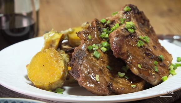 Chancho al fernet, una receta ideal para tu almuerzo de hoy. (Foto: Cucinare)