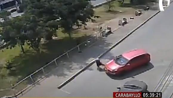 El accidente se produjo en Carabayllo. (Foto: Panamericana)