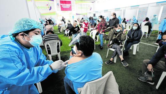 El presidente Pedro Castillo anunció que continuará con las vacunatones. (Fotos: Cesar Campos / @photo.gec)
