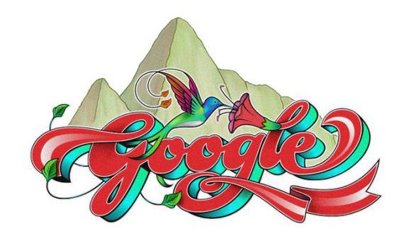 Google celebró el Día Nacional de Perú con este doodle.