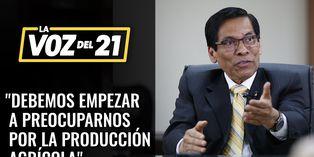 """José Manuel Hernández: """"debemos empezar a preocuparnos por la producción agrícola"""""""