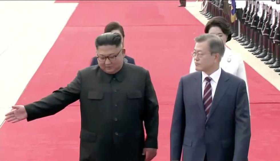 Segundo, tienen deseos de intensificar la cooperación económica intercoreana pese a lo mucho que complica esa posibilidad las sanciones que pesan actualmente sobre el régimen.  Foto: Reuters
