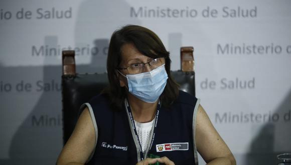 """Pilar Mazzetti reconoció haber cometido un """"error político"""" al vacunarse contra el COVID-19. (Foto: GEC)"""