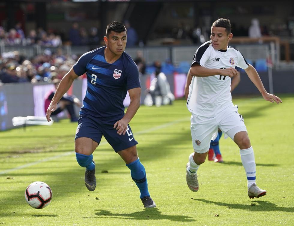 Estados Unidos venció 2-0 a Costa Rica por amistoso internacional. (Foto AP)