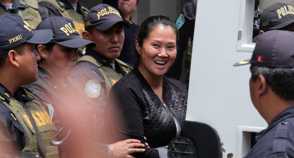 A Keiko Fujimori se le dictó prisión preventiva el pasado 31 de octubre. (Perú21)