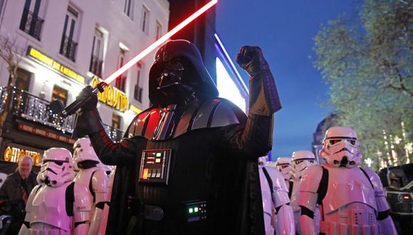 """El Día de Star Wars nació hace varios años ante la referencia de números en la famosa frase """"que la fuerza esté contigo"""". (AFP)"""