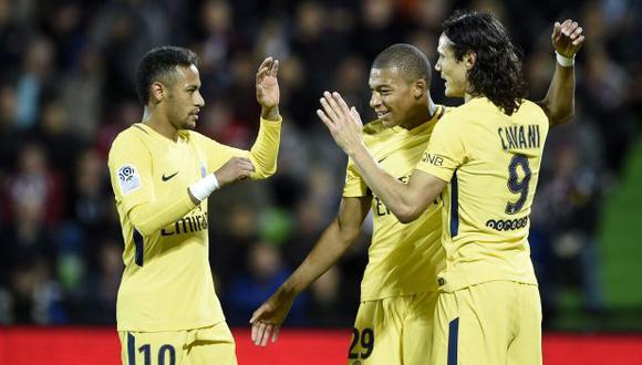 PSG vs.Nimes: chocan por la fecha 4 de la Ligue 1. (Foto: AFP)