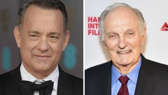 Tom Hanks entregará el premio SAG Awards a la trayectoria a Alan Alda (Fotos: EFE/AFP)