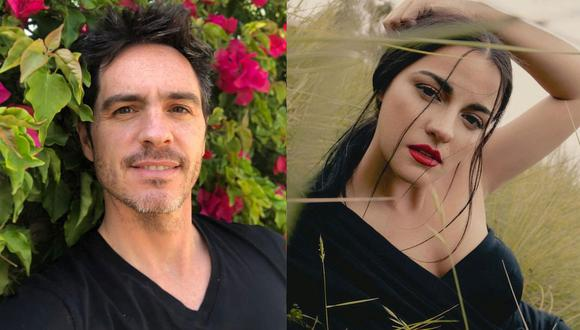 """Mauricio Ochmann y Maite Perroni finalizaron el rodaje de la película """"Sin ti no puedo"""". (Foto: Composición/Instagram)"""