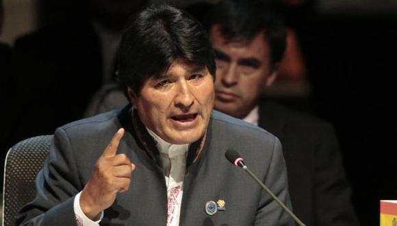 Morales volvió a la carga. (Reuters)