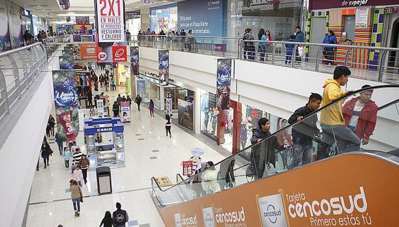 Centros comerciales son un reflejo de la fuerte demanda interna en Perú. (USI)