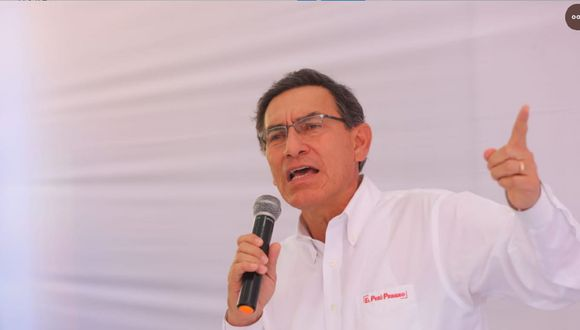 """Martín Vizcarra indicó que trabajando juntos se lograra """"la transición a un nuevo periodo para tener los peruanos las autoridades que nos merecemos"""". (Foto: GEC / Video: Canal N)"""