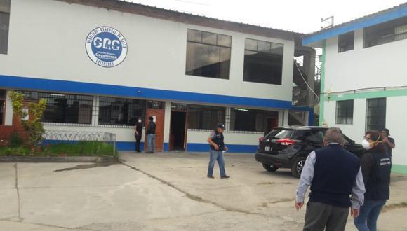 Cajamarca: Oficinas de la Diresa fueron intervenidas por el Primer Despacho de la Fiscalía Especializada en Delitos de Corrupción de Funcionarios. (Foto Ministerio Público)