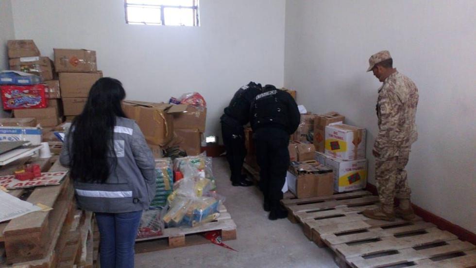 Cuatro toneladas de productos pirotécnicos, decomisados por venta ilegal durante el 2018, fueron destruidas en Cusco. (Foto: Sucamec)