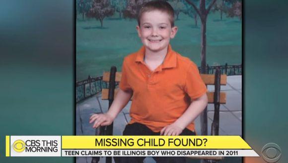El adolescente de 14 años que dice ser Pitzen fue encontrado el miércoles en Newport. (Foto: Captura TV)
