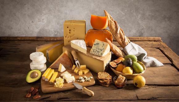 Una variedad de quesos de Europa pueden disfrutarse hoy en el país.