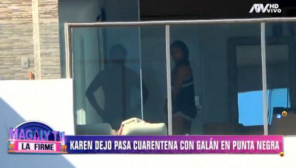 Karen Dejo tiene permiso de tránsito vencido y aún así se trasladó a Punta Negra el fin de semana