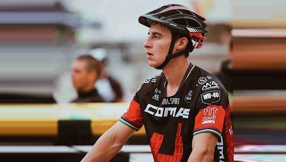 Eloi Palau, ciclista español, sufrió un grave accidente en Italia. (Foto: Facebook Eloi Palau)