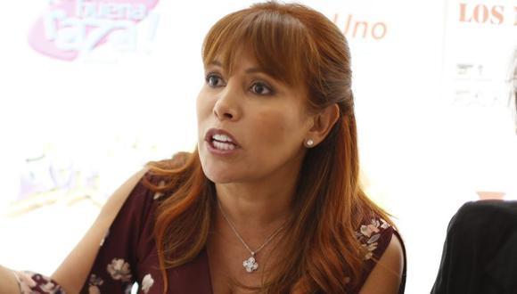 """""""El asunto Odebrecht no es ningún chisme"""", precisó Medina. (Perú21/Mario Zapata)"""