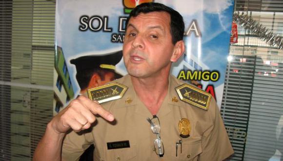 DENUNCIA. Coronel Torres señaló que esos agentes son un riesgo. (USI)