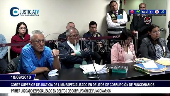 Gustavo Sierra es acusado del presunto delito de tráfico de influencias. (Justicia TV)